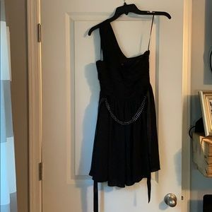 *NEW with tags* Express black, one shoulder dress